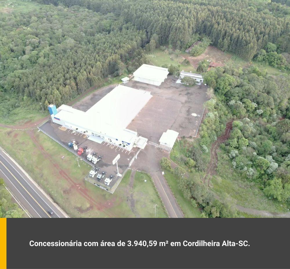 Concessionária com área de 3.940,59m² em Cordilheira Alta / SC
