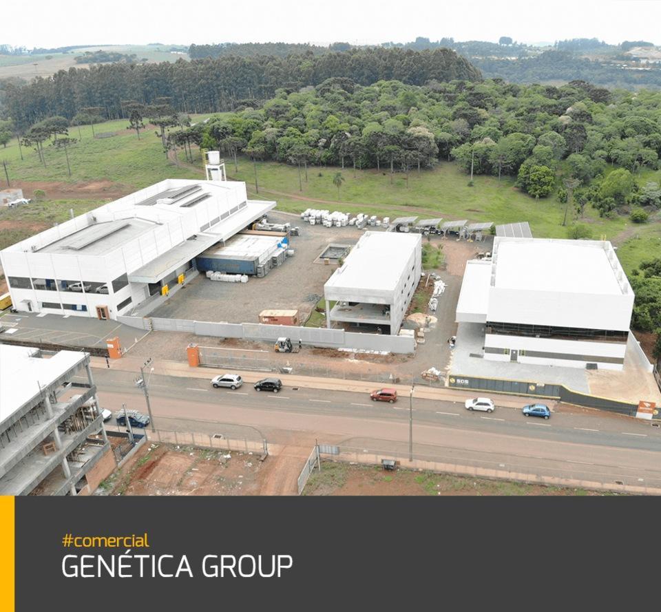 Obra Genética Group #indústria