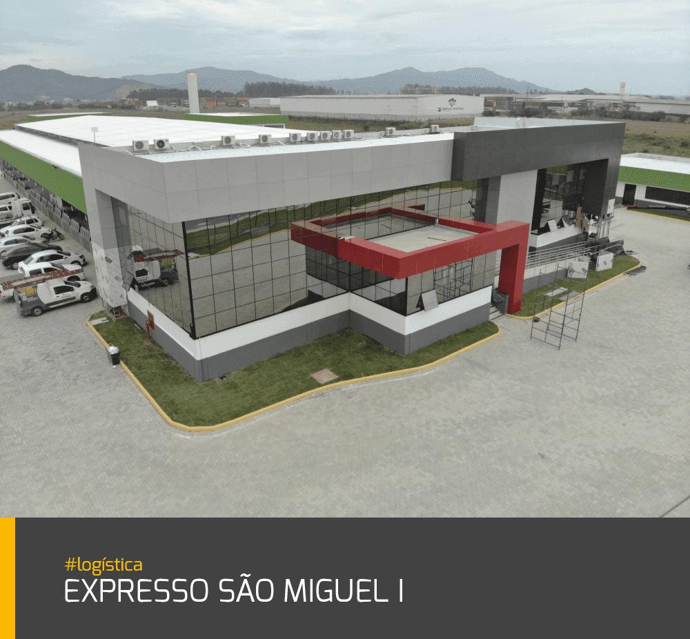Obra Expresso São Miguel I #logística