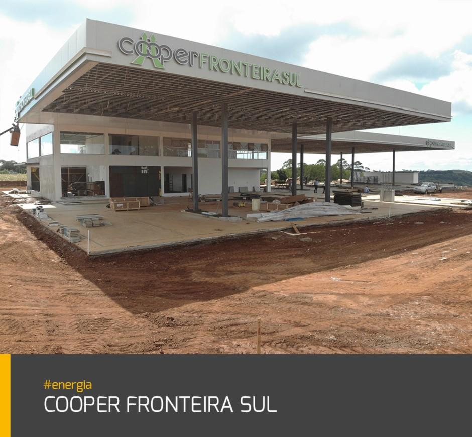 Obra Cooper Fronteira Sul #energia