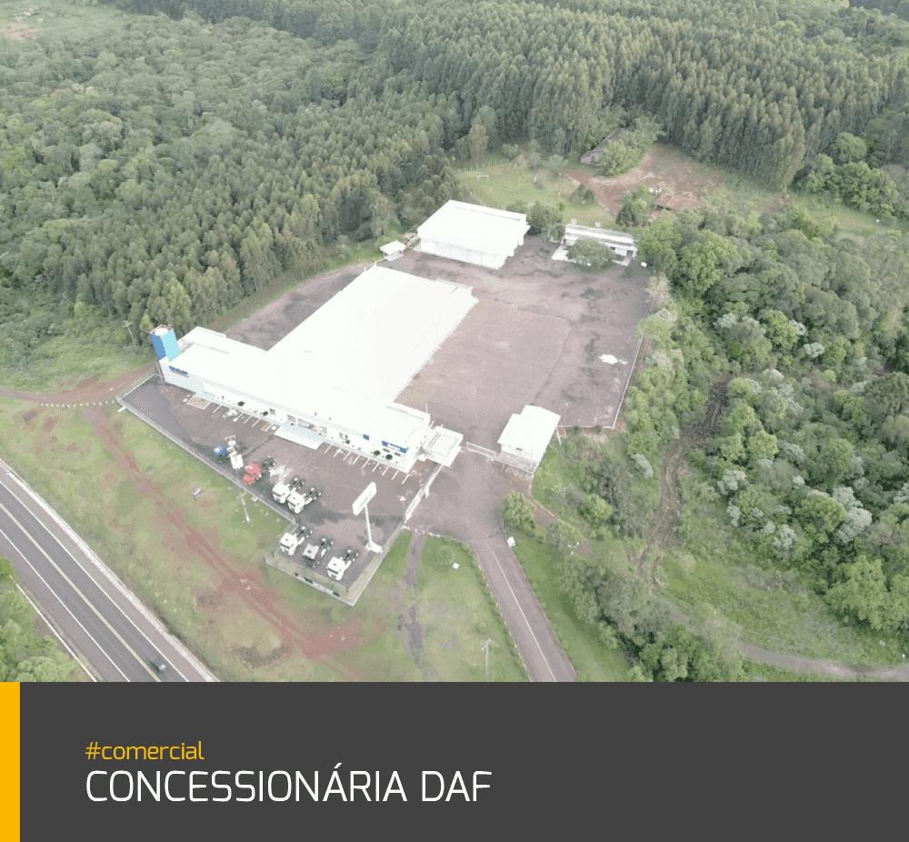 Obras Concessionária DAF #comercial
