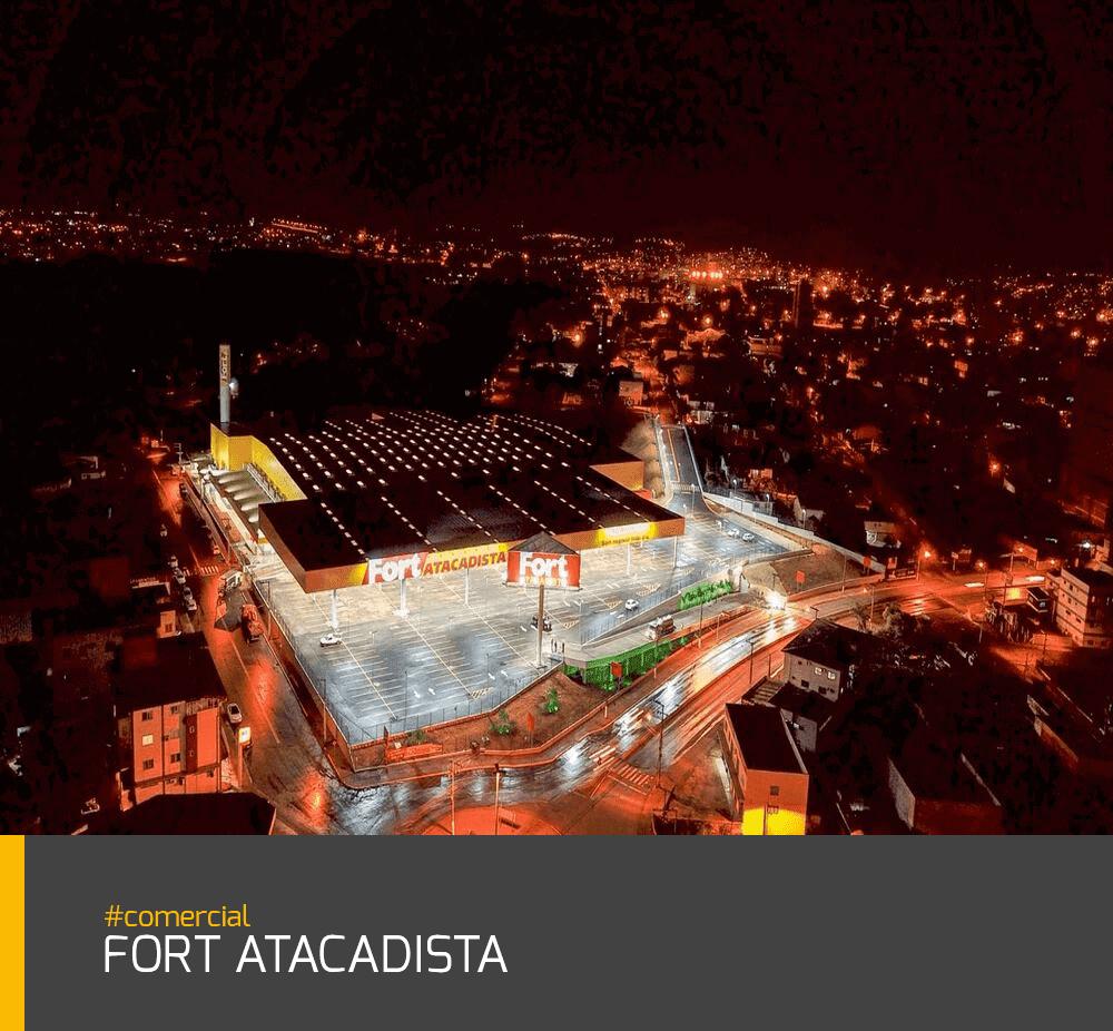 Obra Fort Atacadista #comercial