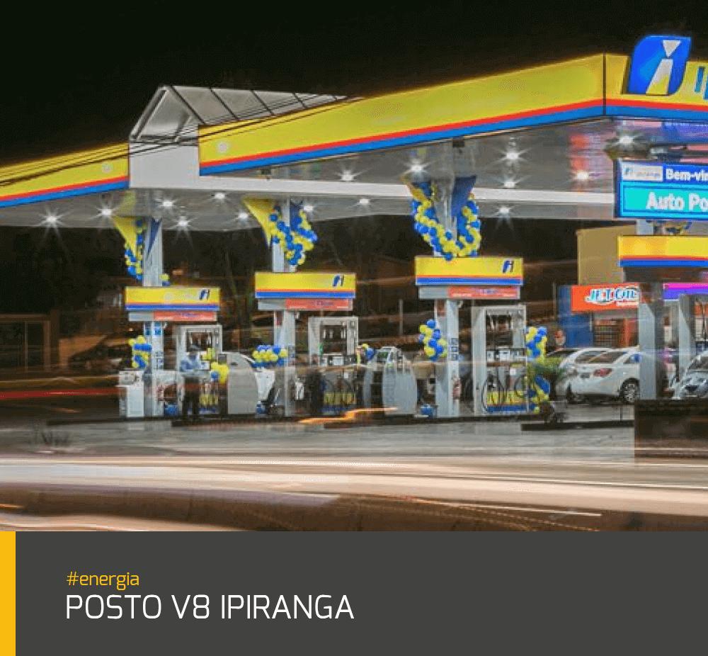 Obra Posto V8 Ipiranga #energia
