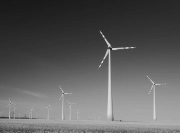 campo de energia eólica Engenharia e Construção
