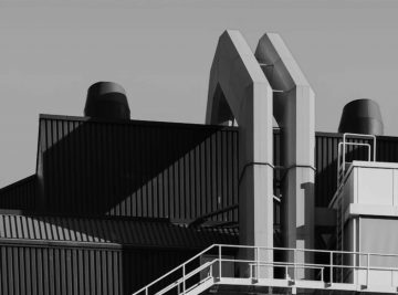 Engenharia e Construção industria escala de cinza